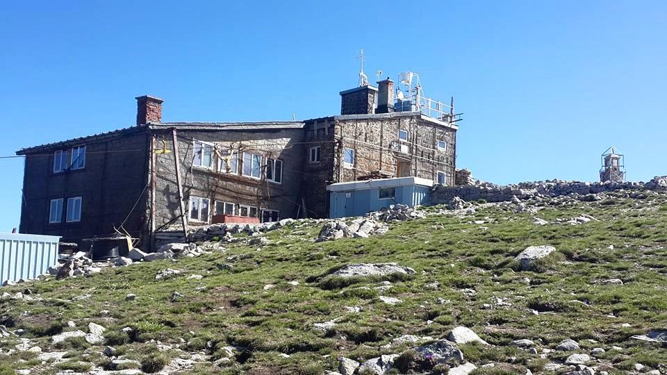 Обсерваторія на вершині Мусали