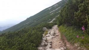 Траверс гори від Skalnate Pleso до Zamkovskeho chata