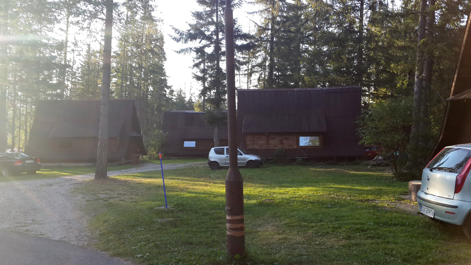 Camping pod Krokwia, Zakopane